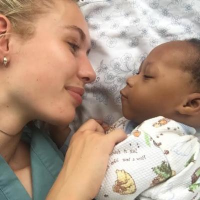 Britt D in Ghana